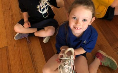 Can you tie your shoelaces?